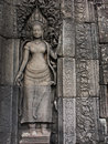Apsara at Angkor Royalty Free Stock Image