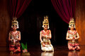 Apsara dance cambodia siem reap january three young cambodian girls performing in traditional costume on january in siem reap Stock Photos