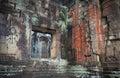 Apsara dancers, bas-relief of Angkor, Cambodia Royalty Free Stock Images