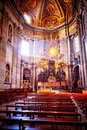 Apse of basilica of St. Peter's in Rome Royalty Free Stock Photo