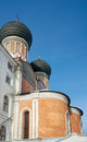 Apse of intercession cathedral izmaylovo estate moscow russia by ivan kusnechik Stock Images