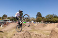 Aptos village april th annual santa cruz mountain bike fe festival on in california the festival takes everything Stock Photos