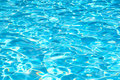 Aqua blue water surface Royalty Free Stock Photo