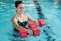 Aqua fitness Royalty Free Stock Photo