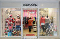 Aqua girl shop in hong kong located telford plaza kowloon bay is a female clothing retailer Stock Photography