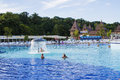 Aqua park in felix romania thermal baile Royalty Free Stock Photo