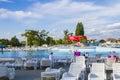 Aqua park in romania thermal baile felix Royalty Free Stock Photos