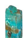 Aquamarine crystals of the beryl Royalty Free Stock Photography