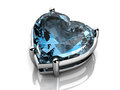 Aquamarine high resolution d image Stock Photography