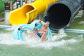 Aquapark Foto de Stock Royalty Free