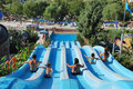 Aquapark Stockbild