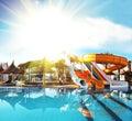 Aquapark Royalty Free Stock Photo