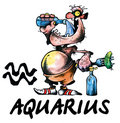 Aquarius illustration Royalty Free Stock Photos