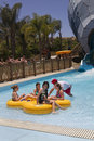 Aquatica waterpark amusement in the desert s huge center hot dry of united states Stock Photography
