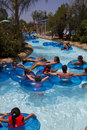 Aquatica waterpark amusement in the desert s huge center hot dry of united states Stock Photos