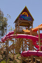 Aquatica waterpark amusement in the desert s huge center hot dry of united states Royalty Free Stock Image