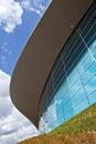 The aquatics centre in the queen elizabeth olympic park in londo impressive located stratford london Stock Photos