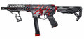 AR15/AR9 9mm SBR Royalty Free Stock Photo