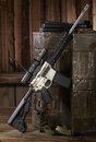 Ar15 rifle Royalty Free Stock Photo