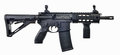 AR15 SBR with 30rd mag and collapsible stock Royalty Free Stock Photo