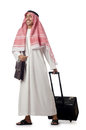 Arab on his trave Royalty Free Stock Image
