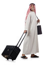 Arab on his travel Stock Photo