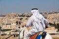 Arab in Jerusalem Royalty Free Stock Photo