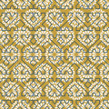 Arab mosaic tile vintage seamless pattern Royalty Free Stock Photo