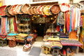 Arab souvenir shop Royalty Free Stock Image