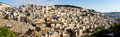 Arab village panoramic view of silwan in jerusalem israel Stock Image