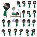 Arab woman niqab Style sickness