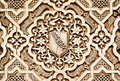 Arabesque alhambra palace granada th century Stock Images