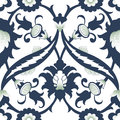 Arabesque damask vintage decor ornate seamless floral decoration