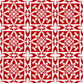 Arabesque floral pattern Stock Image