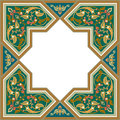 Arabesque pattern with detailed ornament Royalty Free Stock Images
