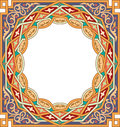 Arabesque pattern with detailed ornament Stock Photos