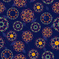 Arabesque seamless pattern Stock Images