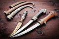 Arabian ancient daggers Royalty Free Stock Photos