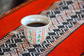 Arabian black coffee is a traditional drink of hospitatlity allover arabia is also known as kahwa or java it is consumed in a Royalty Free Stock Images