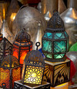 Arabian Lanterns Royalty Free Stock Photo