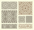 Arabian pattern Royalty Free Stock Photos