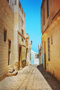 Arabian street Royalty Free Stock Images