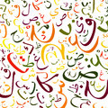 Arabic alphabet background texture high resolution Royalty Free Stock Photography