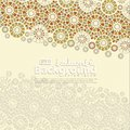 Greeting Card for Ramadan Kareem and Ed Mubarak. Islamic ornamental of mosaic background illustration