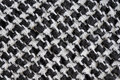 Arabic black and white cloth fabric pattern traditional checked on an Royalty Free Stock Photos