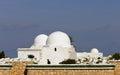 Arabic cemetery next to ribat in monastir tunisia Stock Photo