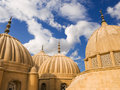 Arabic domes Royalty Free Stock Photography