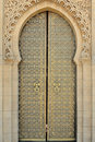 Arabic door Royalty Free Stock Photo