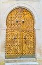 The arabic door Royalty Free Stock Photo
