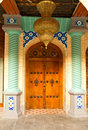 Arabic entrance of an house Royalty Free Stock Photos